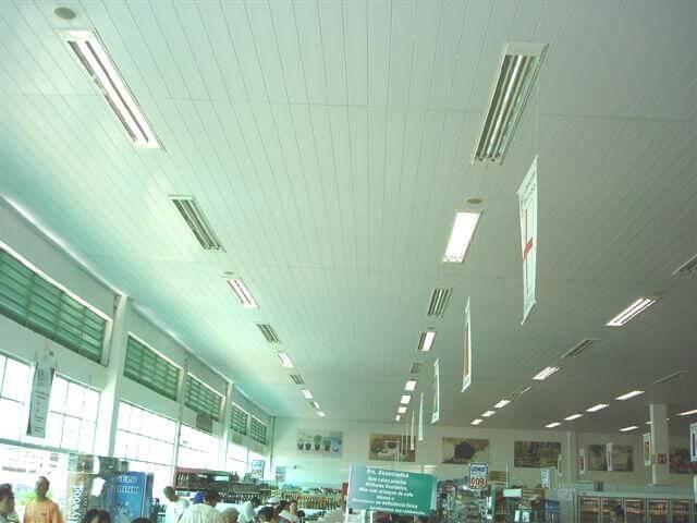 Forro de PVC Réguas/Lineares